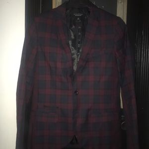 Structure plaid blazer